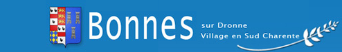 Site officiel de la commune de Bonnes